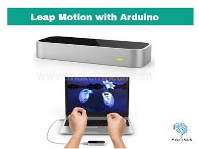 leap with arduino