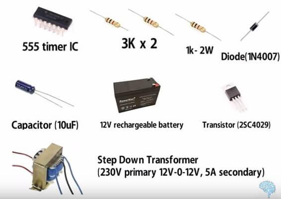 555 timer inverter circuit
