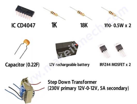 cd4047 inverter