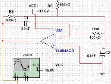 low pass filter circuit diagram eeg