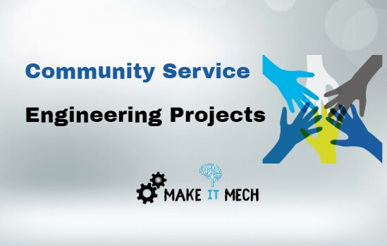 community service engineering projects
